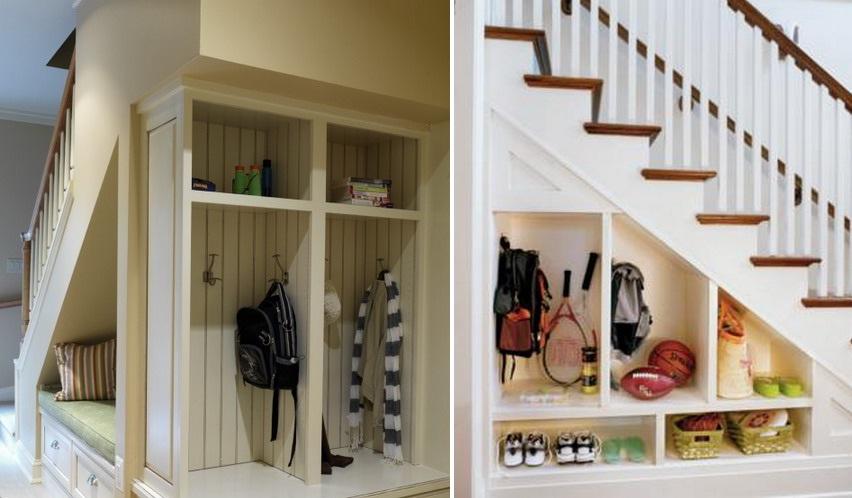 Ruang penyimpanan model mini wardrobe